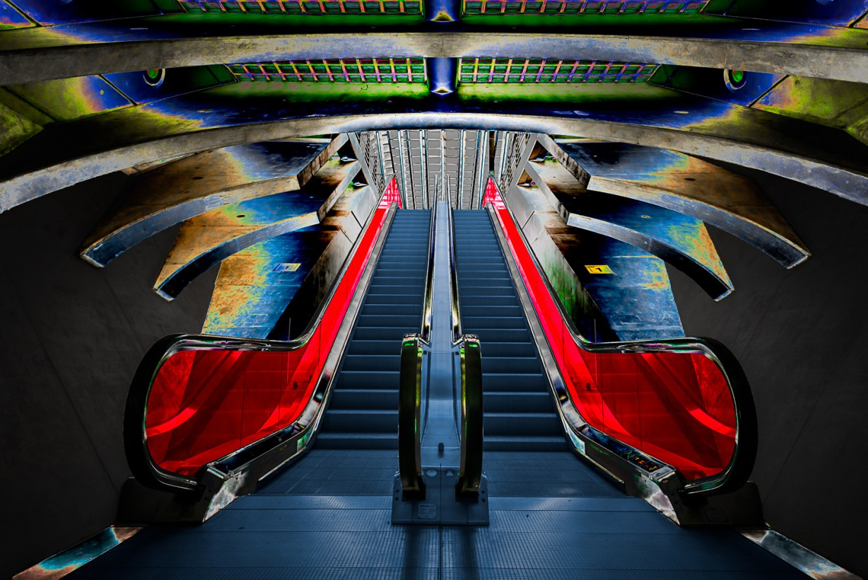 Butterfly Escalator
