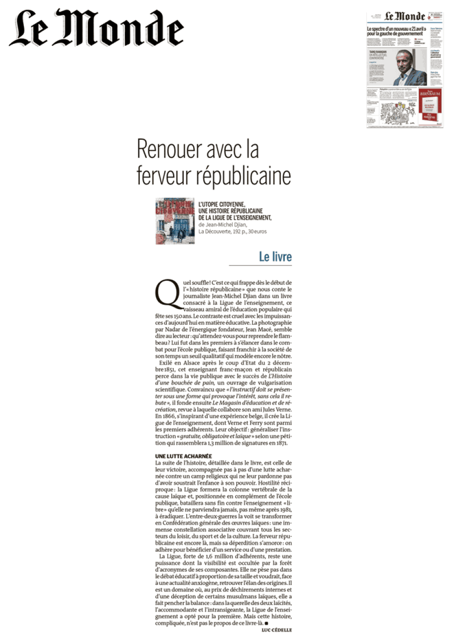 UtopieCitoyenne_LeMonde