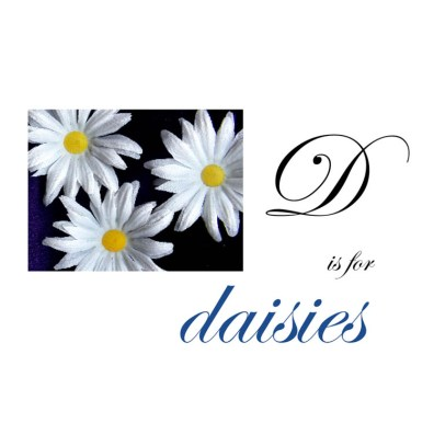 D is for Daisies