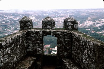 View Through the Castle Walls