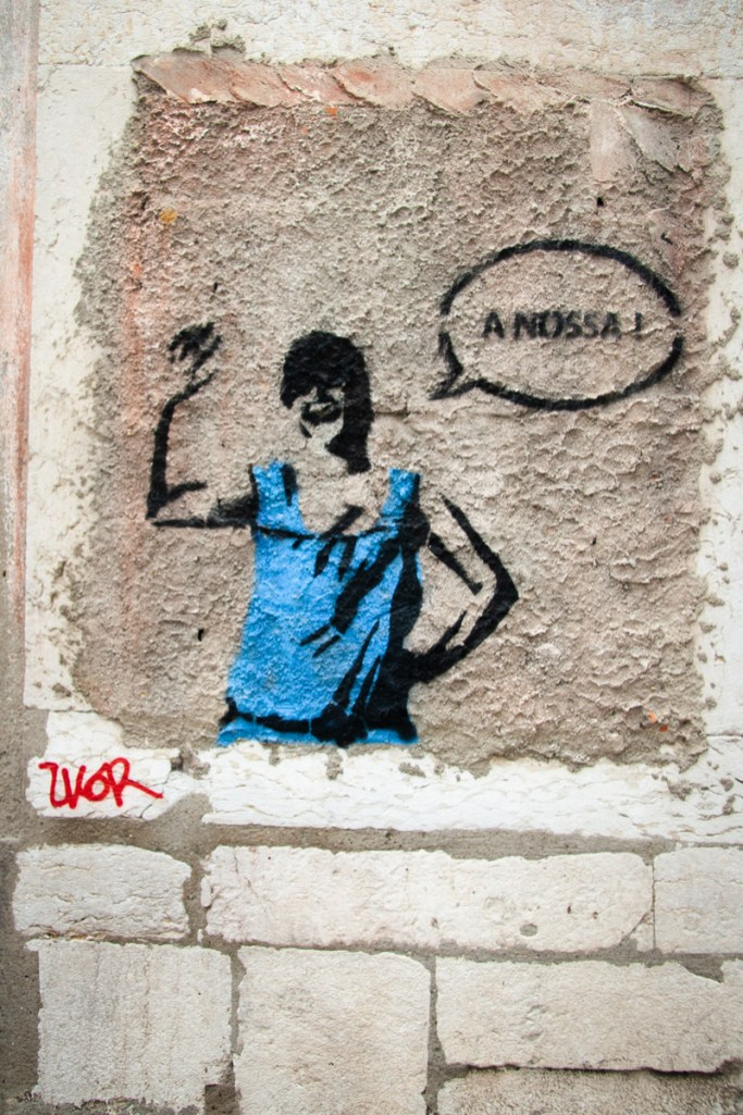 A Nossa = Ours Alfama, Lisbon, Portugal