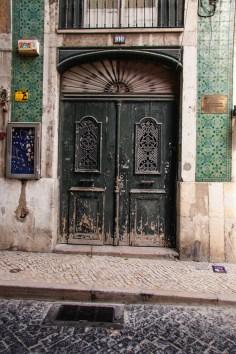 Alfama District, Lisbon, Portugal