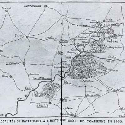 Cartes Anciennes de Compiègne