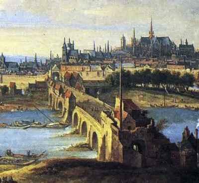 Pont des Tourelles 1690