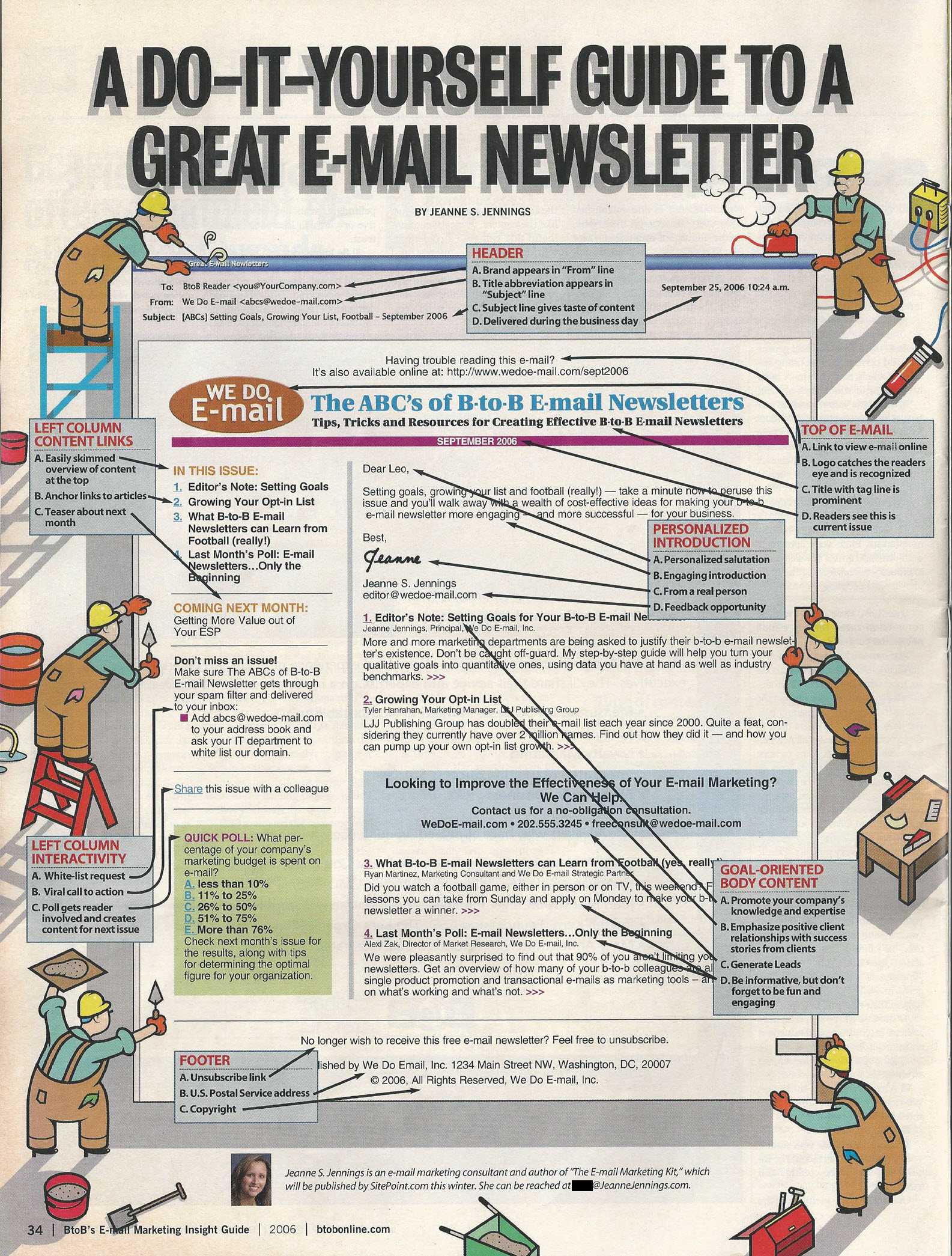 tbt guide to a great email newsletter infographic email