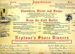 Menu from Neptune's Table, Phoenix, Arizona, 1960s