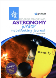 astronomy junior journal