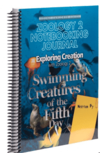 zoology swimming creatures journal