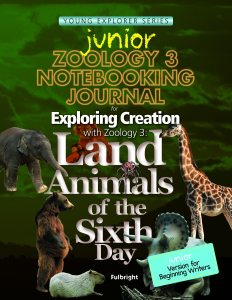Junior Zoology 3 Notebooking Journal
