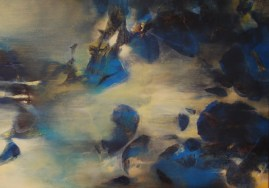 Tempête (acrylique sur toile 65 x 92 cm) 2016