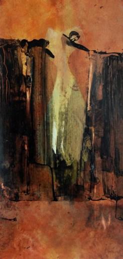 Terre entrouverte (pastel sur papier Arches)