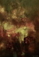 Nocturne (acrylique sur toile 55 x 38 cm)