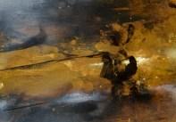 Série traversée (acrylique sur papier 29,7 x 42 cm)