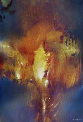 Chercheur de lumière II (acrylique sur toile 55x38 cm) 2018