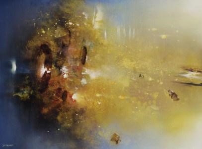 Traversée III (acrylique sur toile 73x54 cm) 2018