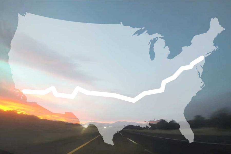 A Time-Lapse Road Trip Across the Entire United States