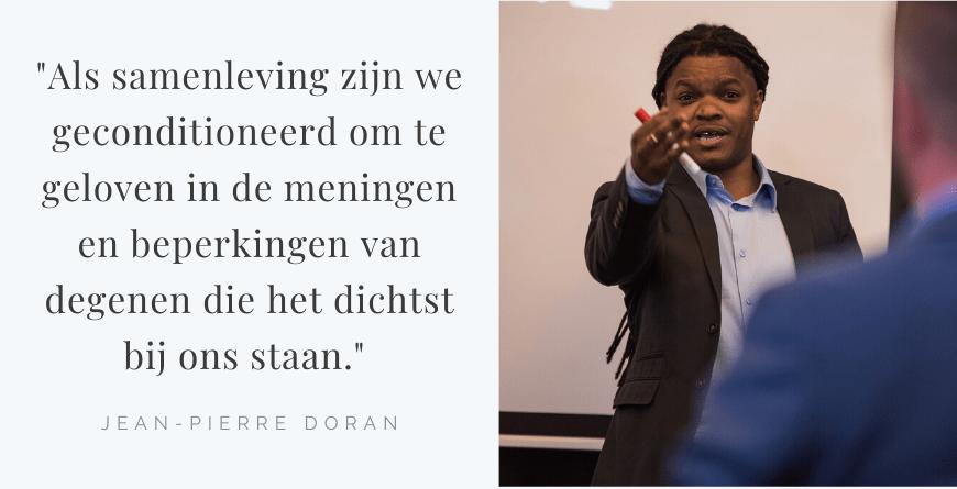 Jean-Pierre Doran Quote