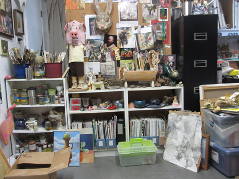 props, inspiration and clutter!