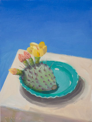 Prickly Pear on Plate