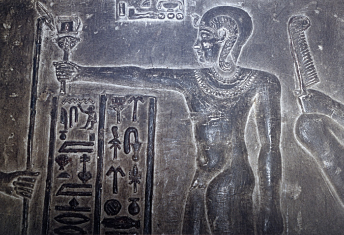 Ptolemy XII, Crypt, Temple of Dendara, Egypt