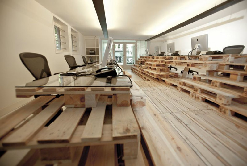 BRANDBASE PALLET OFFICE IN AMSTERDAM | BY MOST ... on Pallet Design  id=90063