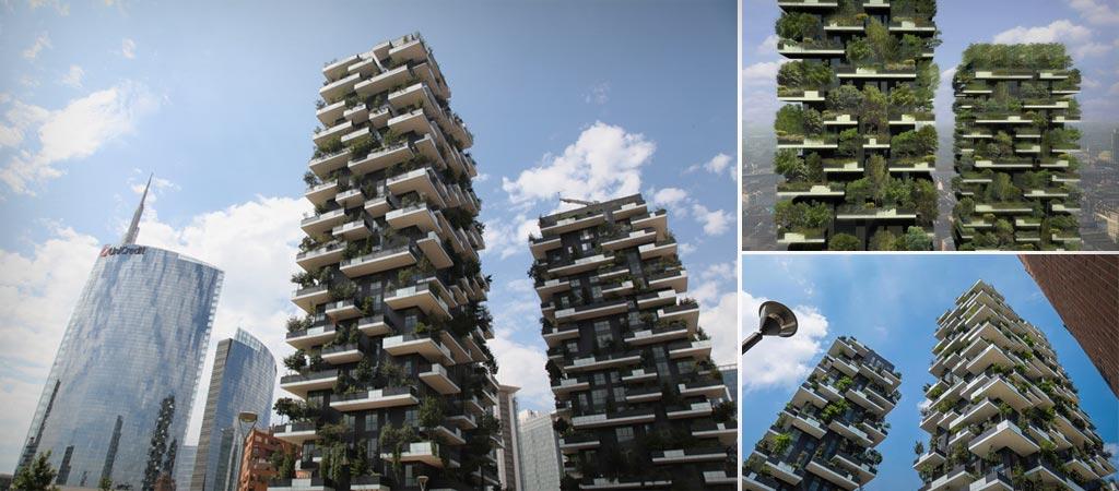 BOSCO VERTICALE BUILDINGS IN MILAN ITALY Jebiga Design