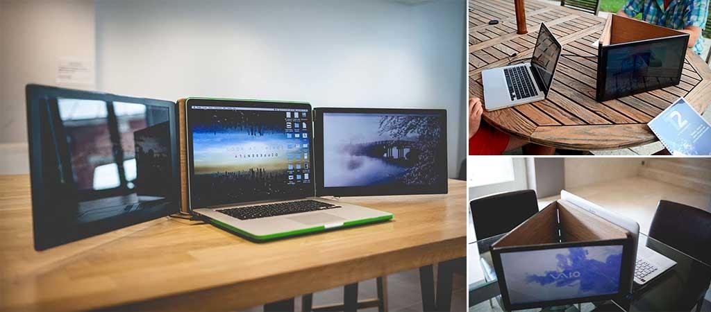Sliden Joy Portable Double Screen For Laptops Jebiga Design Amp Lifestyle