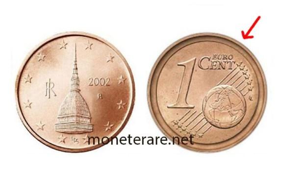 1 centesimo di euro Mole Antonelliana