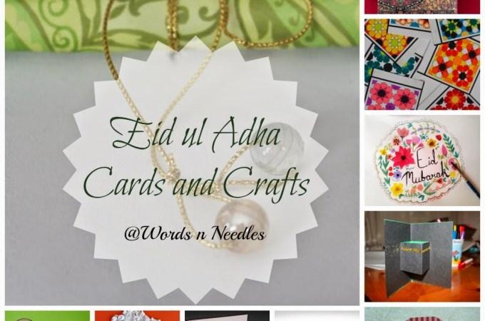 eid cards islamic crafts muslim kids sheep kaaba cards wordsnneedles