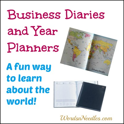business diaries teach kids wordsnneedles