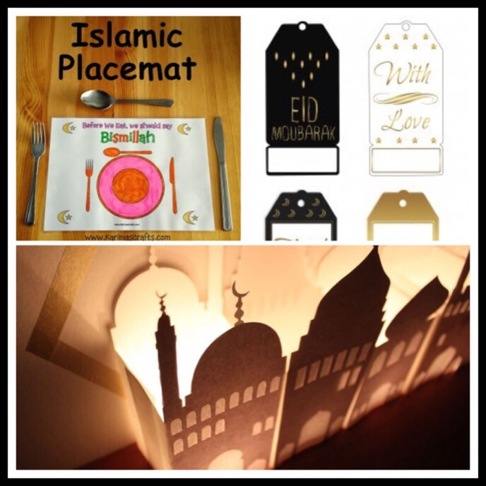 printables crafts gift tags ramadan for kids