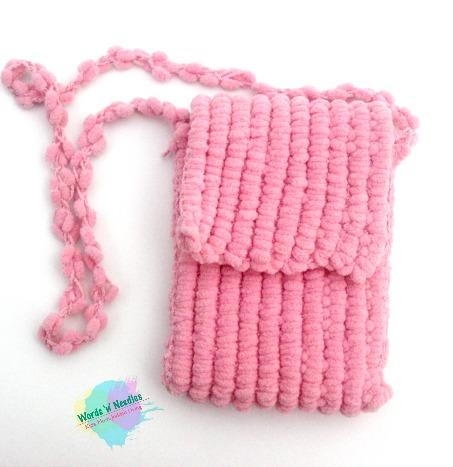 popcorn yarn crochet bag plus free pattern