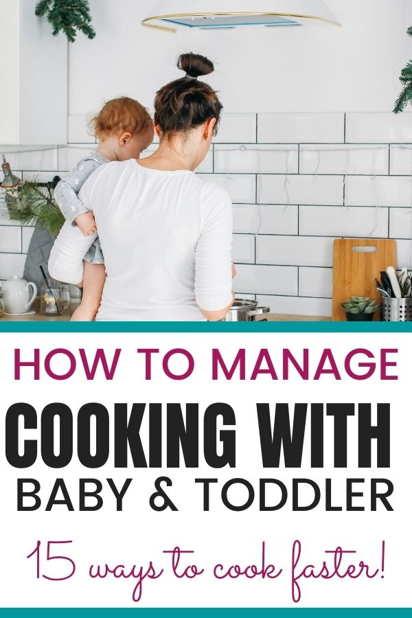 how to manage cooking with a toddler jeddahmom