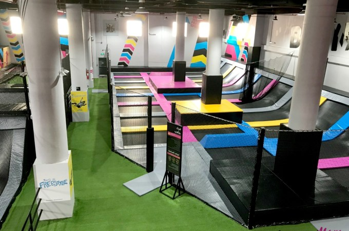 Bounce inc Jeddah Trampoline Park in Jeddah review JeddahMom