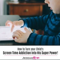What to do about your Child's Screen Addiction