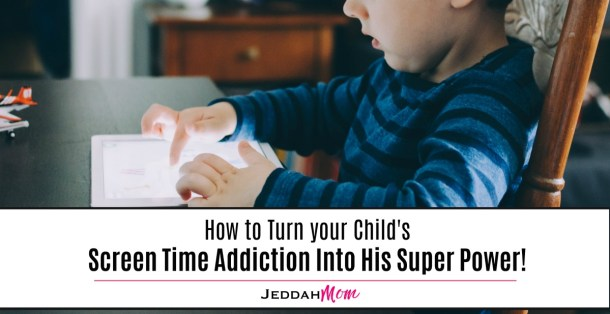 How to Turn Your Child's Screen Time Addiction Into His Super Power What can Kids do for Screen Time