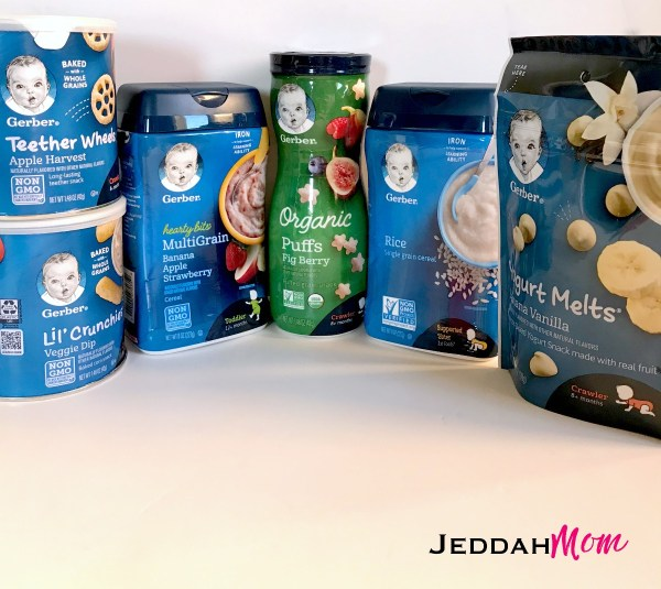 Healthy eating with Gerber JeddahMom