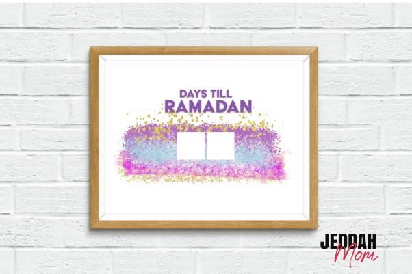Days till Ramdan Pretty pink Celebration decoration JeddahMom