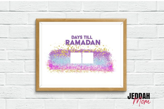 Days till Ramdan Pretty pink Celebration decoration JeddahMom