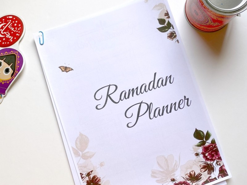 Printable Ramadan Planner for moms JeddahMom