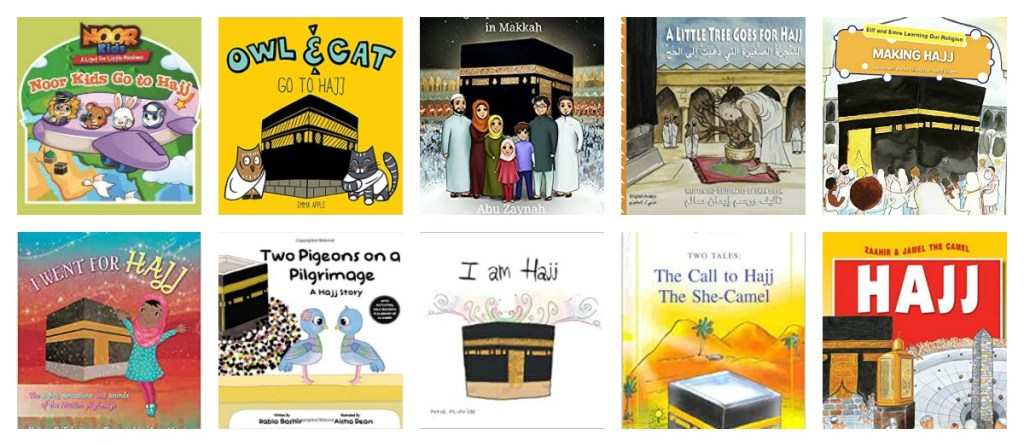 Hajj books for Kids JeddahMom