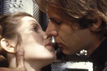 Han Kisses Leia