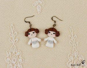 Princess Leia Earrings