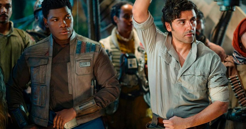 The Rise of Skywalker: Finn and Poe