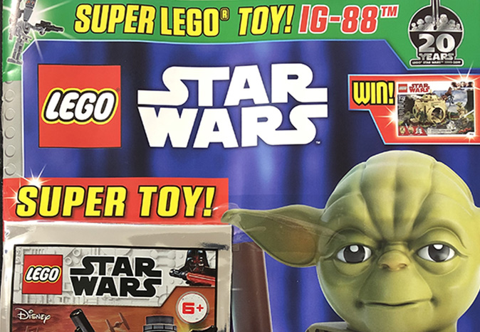 Egmonts Lego Star Wars Magazine 47 Out Now Jedi News