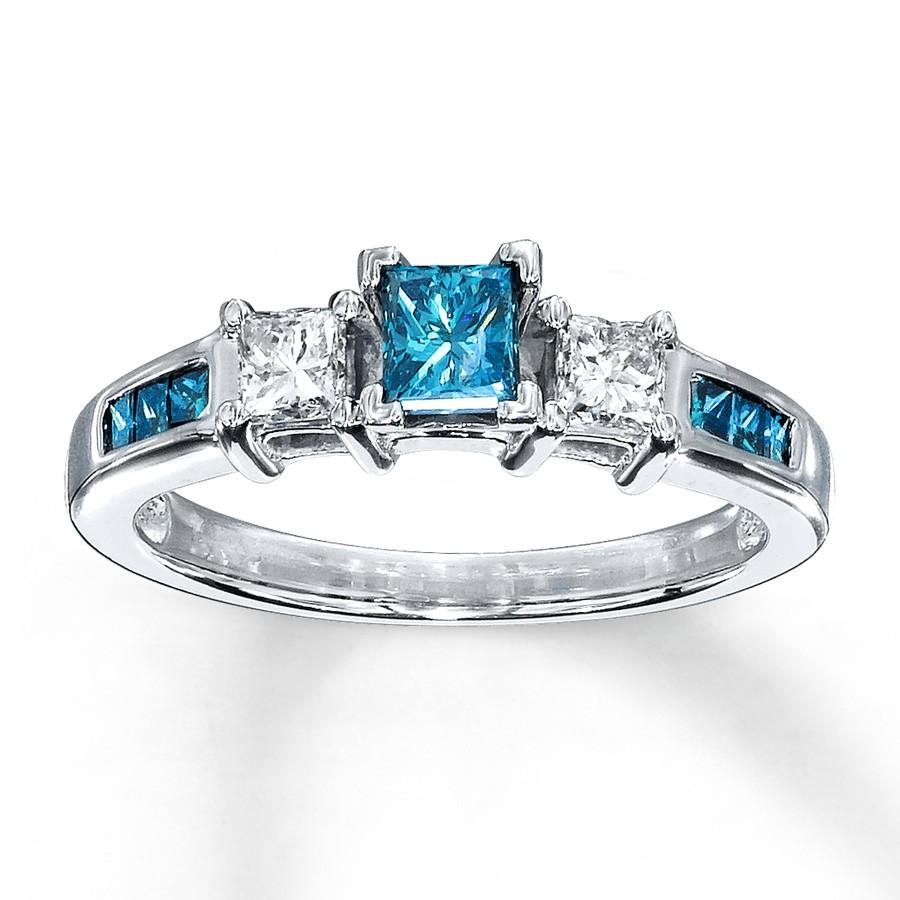 Kay Ruby Heart Ring Silver