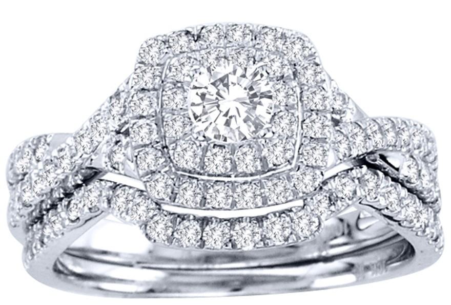 2 Carat Round Cut GIA Certified Diamond Luxurious Halo