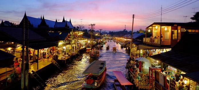 คำศัพท์ภาษาจีน สถานที่ท่องเที่ยวในไทย 泰国景点