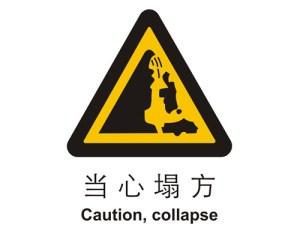 คำศัพท์ภาษาจีน : ป้ายห้าม ป้ายเตือน 警告标志 Warning Sign