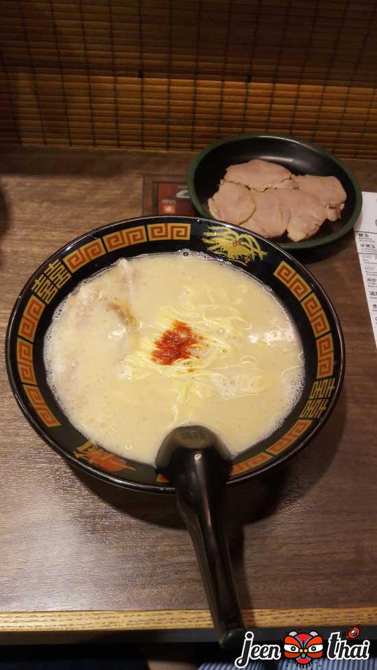 อิจิรันราเมง Ichiran Ramen 一蘭 ราเมงข้อสอบ ที่ Ueno